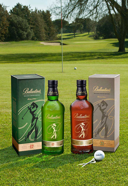 Ballantine's 17 & 21 Special Edition Golf 2014